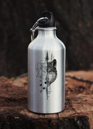 Бутылка для воды на карабине