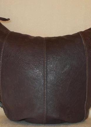 Супер-большая сумка *fred de la bretoniere* натуральная кожа.