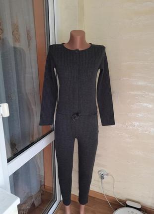 Комбинезон- брюки теплий на осень деми s m