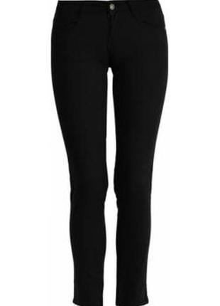 Повседневные чёрные брюки top secret