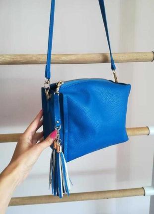 Стильная сумочка, кросс-боди с длинным ремешком