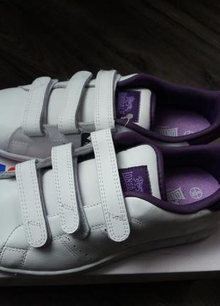 Lonsdale leyton жіночі кросівки біло-фіолетові, 38 р.