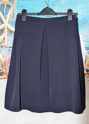 Красивая дизайнерская юбка миди с одним швом размер 10-8