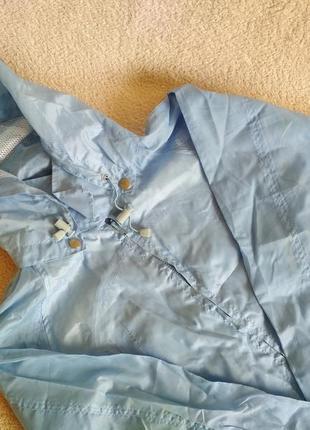 Куртка дождевик  ветровка плащовка в поход размер 14