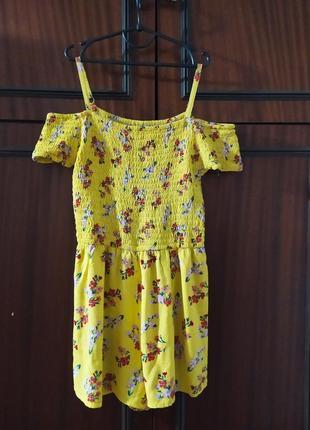 Фірмовий комбінезон для юнної леді 👸, вирізи на плечах, натуральна підкладка шортами