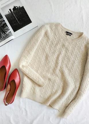 Кашемировый свитерок zara knit
