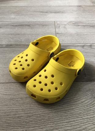 Крокси сандали crocs - c10/17-17.5 см