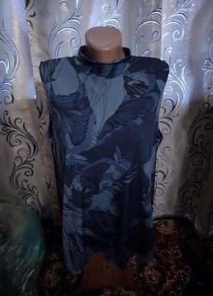 Шикарная блуза с интересной спинкой на пышные формы next