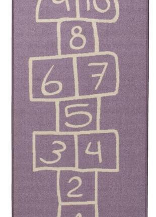 Коврик ковер в детскую комнату 100x120см класики