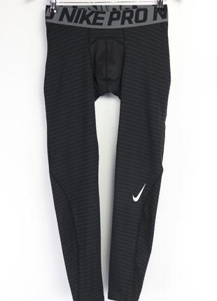 Термобелье спортивные штаны лосины nike pro dri-fit