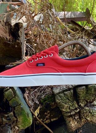 Червоні кеди, кросівки vans oldskool оригінал