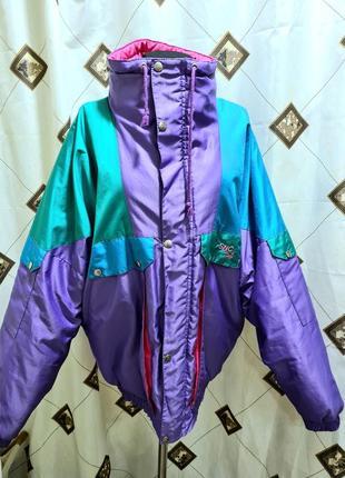 Французский винтаж, стиль '80 непродуваемая куртка в стиле balenciaga
