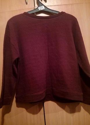 Теплый и приятный свитер от zara