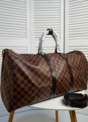 Дорожная сумка красная подкладка . сумка луи