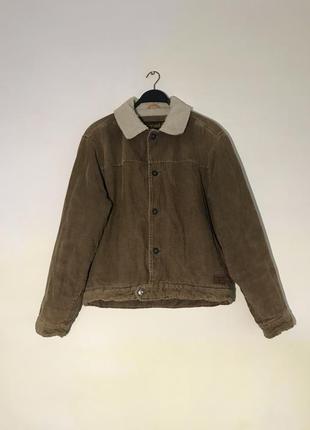 Вельветовая куртка шерпа timberland оригинал