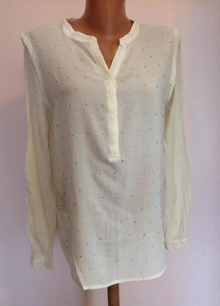Молочная базовая блузка/m/ brend in wear