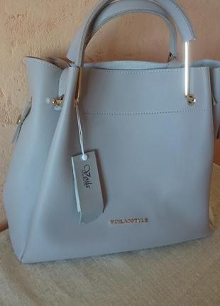 Модная вместительная новая сумка