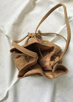 Сумка-мешок с цветами1 фото
