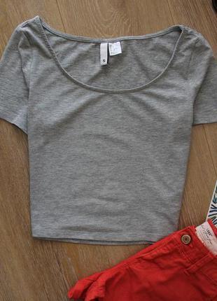 Топ h&m футболка