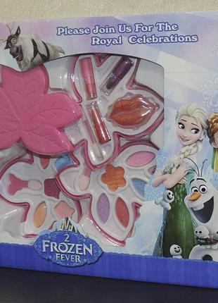 Frozen fever детский косметический набор