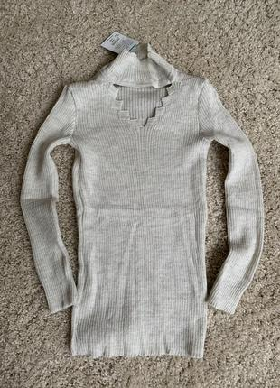 Теплий гольф тёплая водолазка зимовий светр зимний свитер кофта