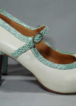 Chie mihara туфли лодочки балетки женские кожаные. испания. оригинал. 41 р./27 см.