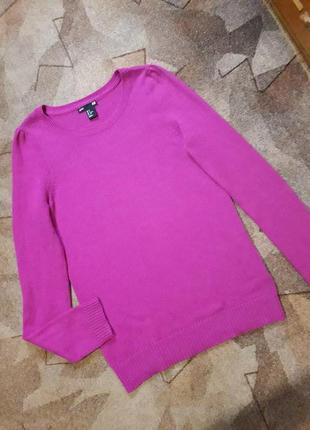 Мягкий свитер с ангорой от h&m