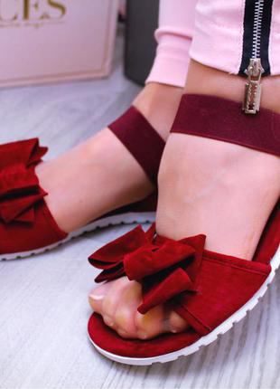 Босоножки сандалии бантик