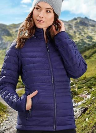 Легкая стеганая куртка tchibo хs германия