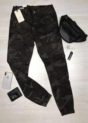 Новые мужские серые камуфляжные штаны j&j