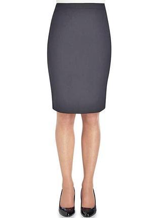 Базовая трикотажная юбка карандаш