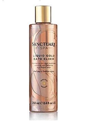 Англия, жидкое золото, увлажняющая spa-пена sanctuary spa liquid gold bath elixir