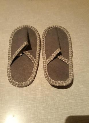 Тапочки детские для бани/сауны