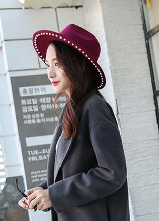Модний весняно-осінній капелюх 13124
