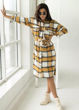 Стильне плаття сорочка