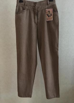 Винтажные мом джинсы spengler pasific line высокая посадка