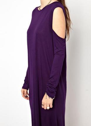 Пурпурне плаття з розрізами  від cheap monday