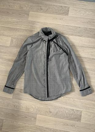 Рубашка в клітинку від topshop