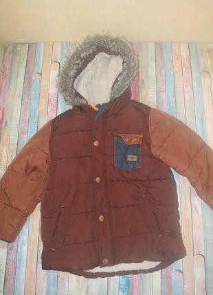 Куртка парка 4-5 лет