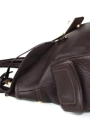 Породистая сумка jasper conran, британия, натуральная кожа.3