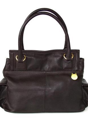 Породистая сумка jasper conran, британия, натуральная кожа.2