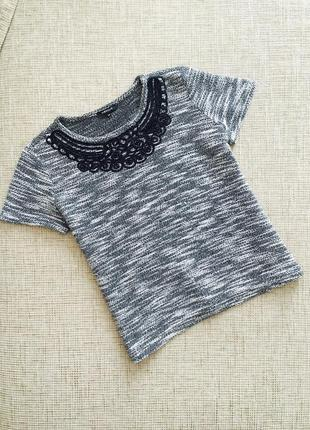 Шикарная футболка, нарядная кофточка morgan