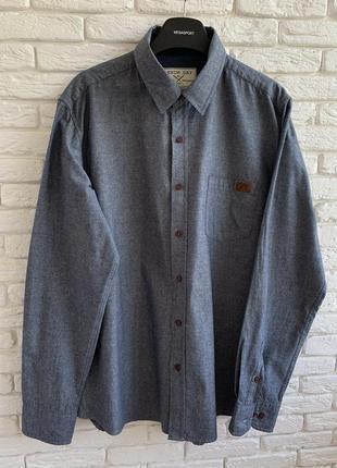 Рубашка с длинным рукавом denim