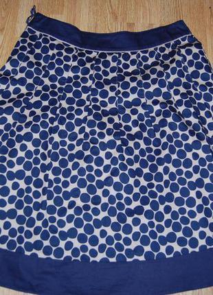 Котоновая юбка laura ashley