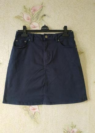 Женская юбка # синяя женская юбка # котоновая юбка # tu