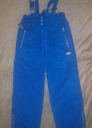Зимние термо штаны из канады рост146