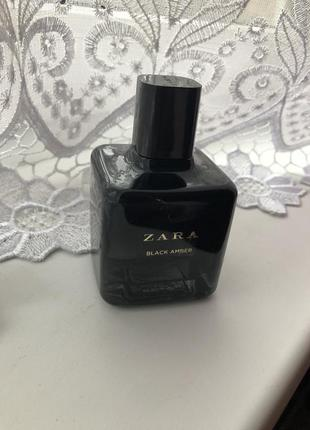 Zara black amber духи