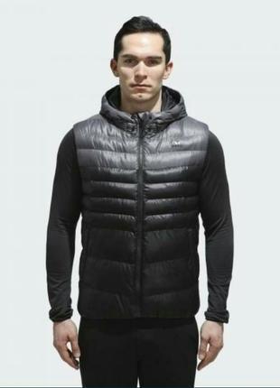 Мужской жилет adidas, мужская жилетка hooded cv 6072
