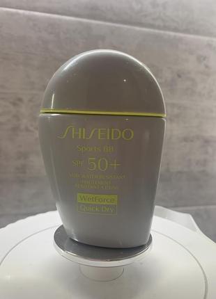 Shiseido тональный крем bb