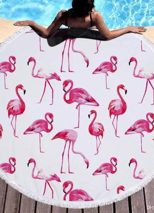 Пляжное покрывало фламинго sport line - №5501